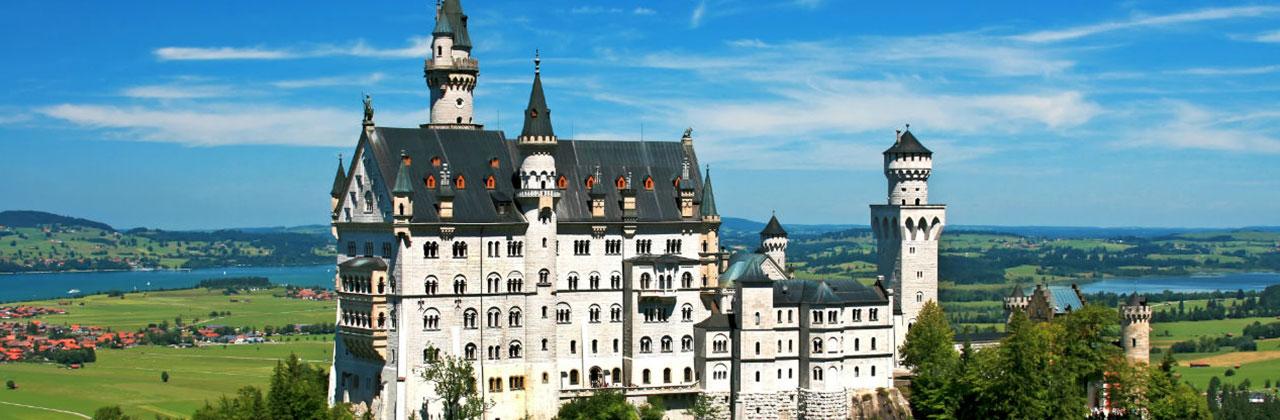 Экскурсии и туры в замок Нойшванштайн, Октоберфест, Бавария, Трансферы, Мюнхен, Нойшванштайн