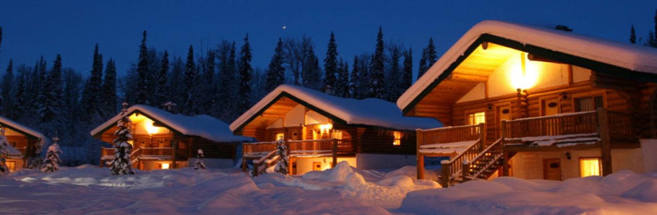 Экскурсии по Баварии, зимняя Бавария, Рождество, отпуск - хижины