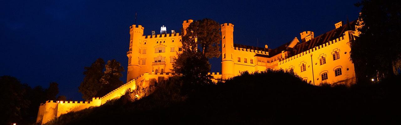 Экскурсия в замок Нойшванштайн, Хоэншвангау и в церковь Визкирхе.